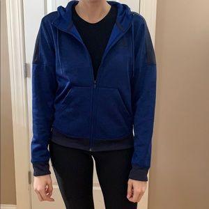 Full zip adidas hoodie. Size small